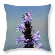 Flowers By The River  Throw Pillow
