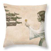 Flowers For Alderaan Throw Pillow by Eric Fan