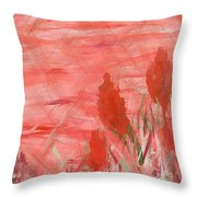 Flowers For Melissa Throw Pillow