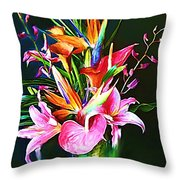 Flowers For You 1 Throw Pillow