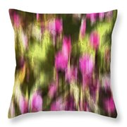 Flowers In Ink Throw Pillow