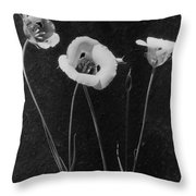 Flowers In Louise Beebe Wilder's Garden Throw Pillow