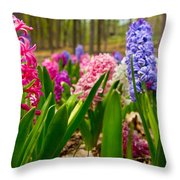 Flowers In Michigan  Throw Pillow