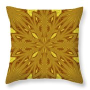 Flowers In The Paradise Throw Pillow