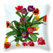 Flowers  Just  For  You Throw Pillow