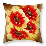 Flowers Of Flowers Throw Pillow