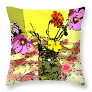 Flowers Of Love Throw Pillow