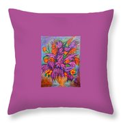 Flowers Of Passion Throw Pillow