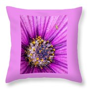 Flowers Within A Flower Throw Pillow