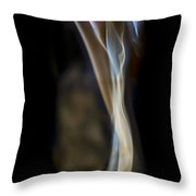 Flowing Forth Throw Pillow
