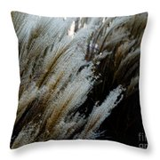Flowing In The Wind Throw Pillow