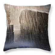 Flowing Water #2 Throw Pillow