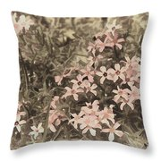 Flox Throw Pillow