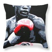 Floyd Mayweather Throw Pillow