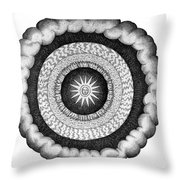 Fludds Cosmic Realms 1617 Throw Pillow