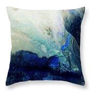 Fluid Enchantment Throw Pillow