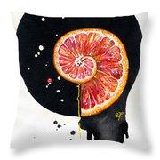 Fluidity 13 - Elena Yakubovich Throw Pillow