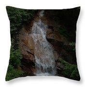 Flume Gorge Throw Pillow