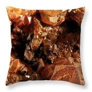 Fluorite I Throw Pillow