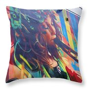Flute Throw Pillow
