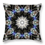 Flux Magnetism Throw Pillow