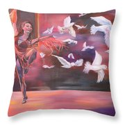 Fly Above Throw Pillow
