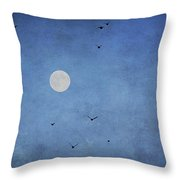 Fly Away Throw Pillow by Darren Fisher