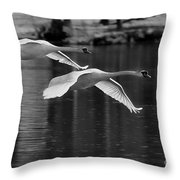 Fly Bye Throw Pillow