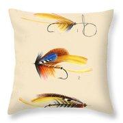 Fly Fishing-jp2094 Throw Pillow