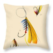 Fly Fishing-jp2098 Throw Pillow