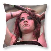 Fly Leaf Throw Pillow