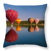 Fly New Mexico Throw Pillow