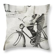 Fly Out Of Town Throw Pillow