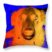 You Must Come With Me And Fly Off To See My Master In The Sky  Throw Pillow