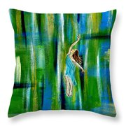 Fly Without Wings Throw Pillow