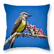 Flycatcher Throw Pillow