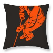 Flyers Shadow Player3 Throw Pillow