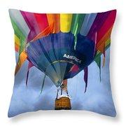Flyin The Coop II Throw Pillow