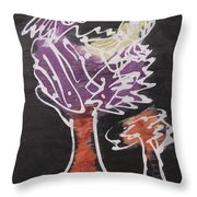 Flying Birds On The Big Tree Throw Pillow