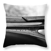Flying Cadillac  Throw Pillow