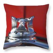 Flying Duck Hood Ornament Throw Pillow