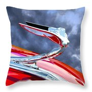 Flying Goddess Throw Pillow