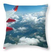 Flying High 3 Throw Pillow