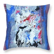 Flying Horses Throw Pillow