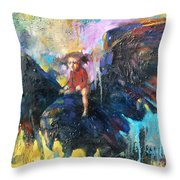 Flying In My Dreams Throw Pillow