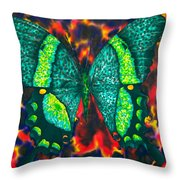 Flying Into Hades Throw Pillow