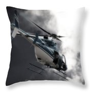 Flying Into The Light Throw Pillow