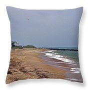 Flying My Kite Throw Pillow