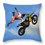 Flying One Throw Pillow