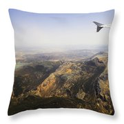 Flying Over Spanish Land I Throw Pillow